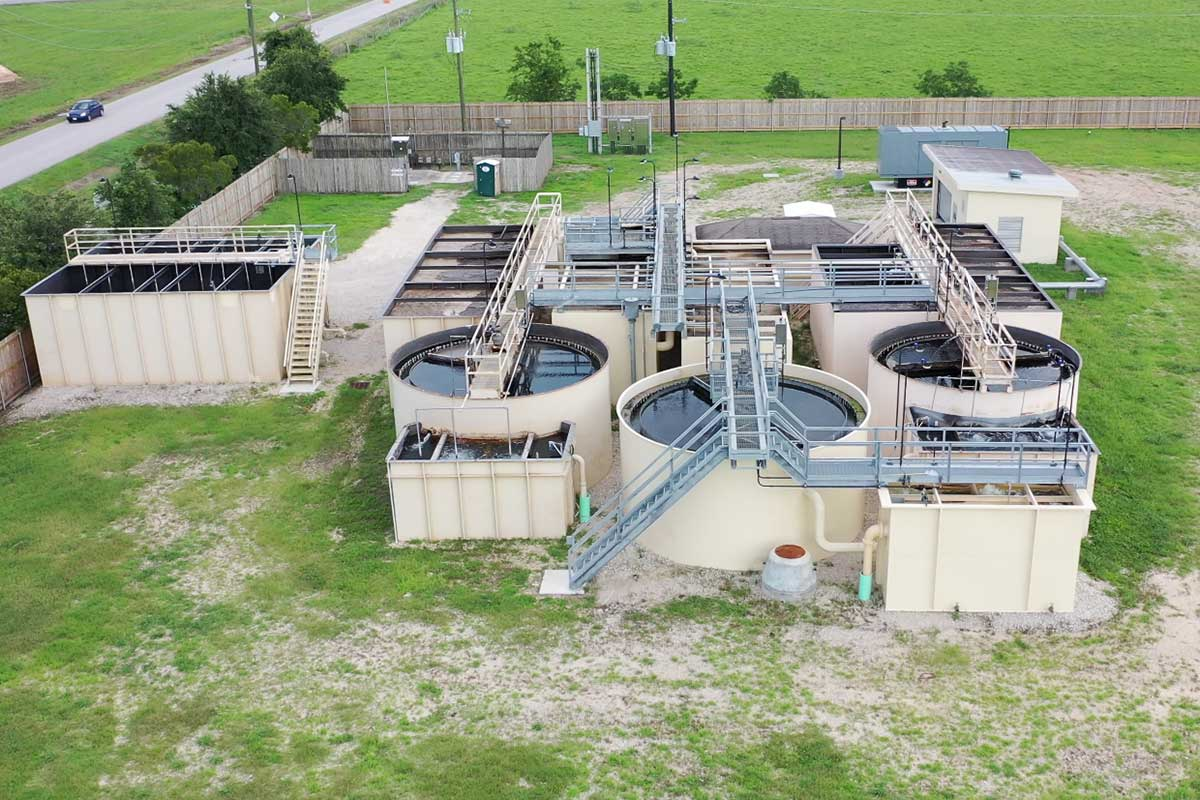 Picture of Wastewater Treatment Plant for Fort Bend County MUD No. 162