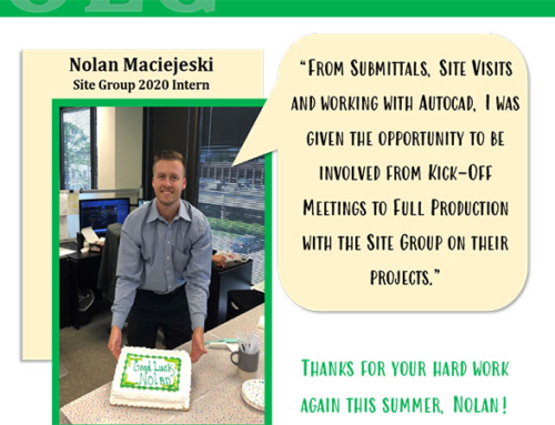 Thank You For Your Hard Work Nolan!