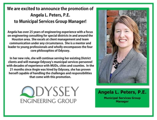 Congratulations to Angela L. Peters, P.E!