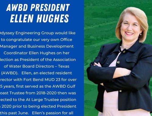 Congratulations Ellen Hughes!