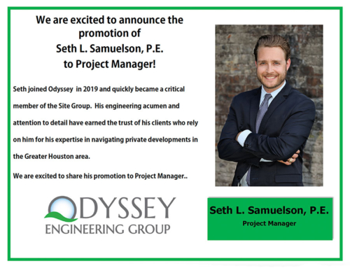 Congratulations Seth!